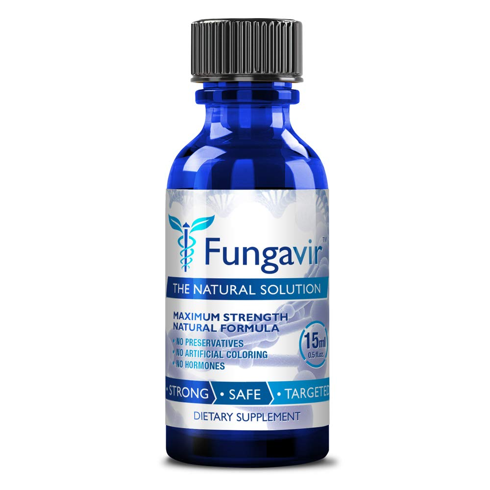 Fungavir - Anti-fungal Nail Treatment, Effective against nail fungus - Toenails & Fingernails Anti-fungal Nail Solution - Stops and Prevents Nail Fungus, 1 Bottle by Fungavir
