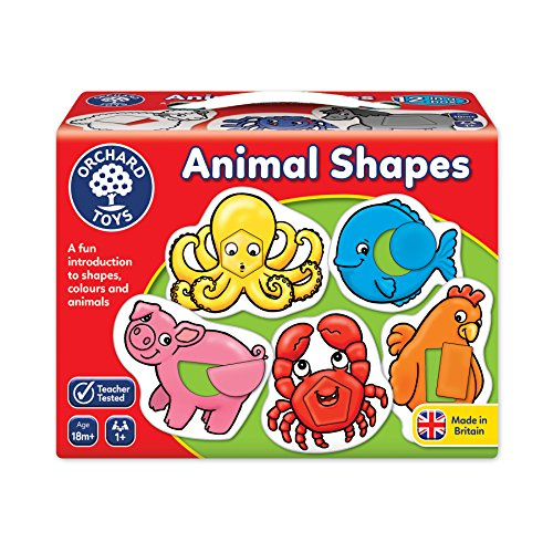 Orchard Toys Animal Shapes Children's Game, Multi, One Size]()