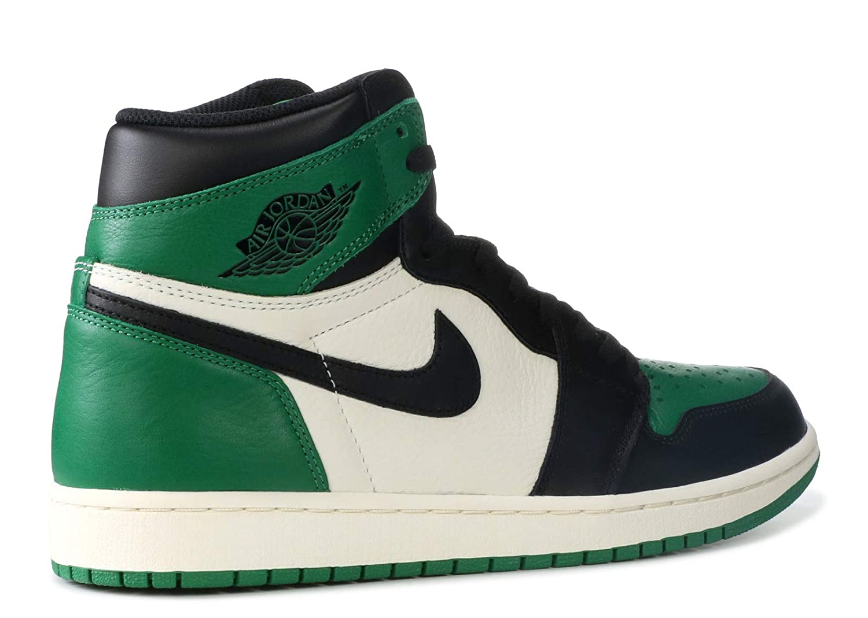 innovative design 2ef74 64646 Amazon.com   Air Jordan 1 Retro High OG 555088 (9, Pine Green)   Basketball