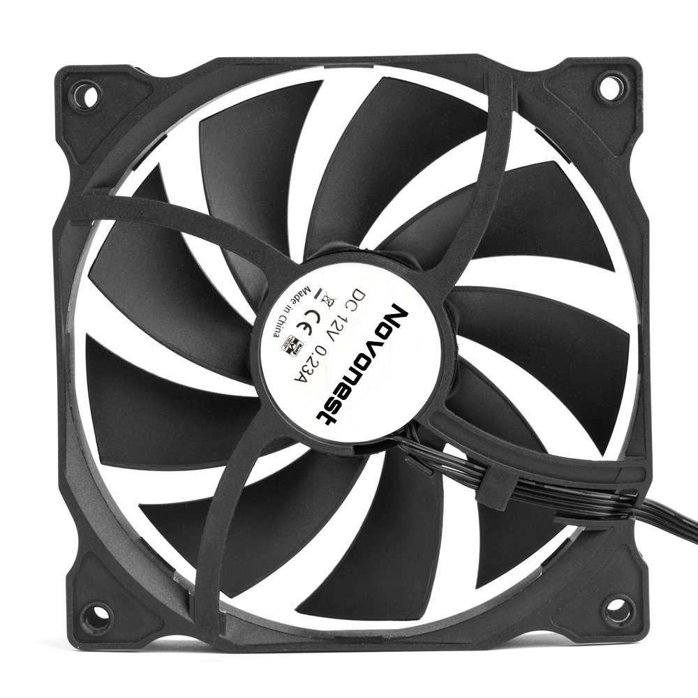 uphere 3-pack Long Life Computer Case Fan 120mm Cooling Case Fan for Computer Cases Cooling by upHere (Image #4)