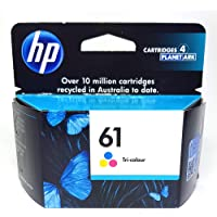 HP Office Product HP 61 Original Tri-Color Ink Cartridges, (CH562WA)