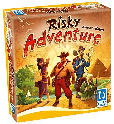 Queen Games 10190 - Risky Adventure, Spiele und Puzzles