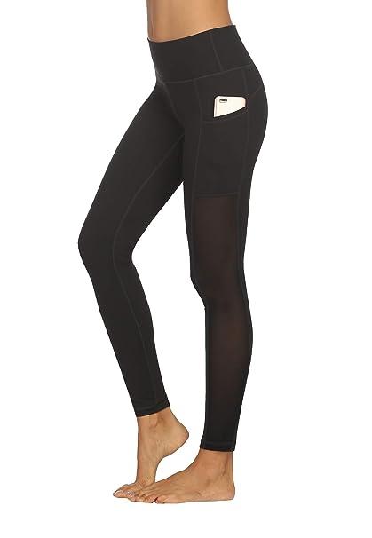 Amazon.com: Kayven Mas Pantalones de malla para yoga de ...