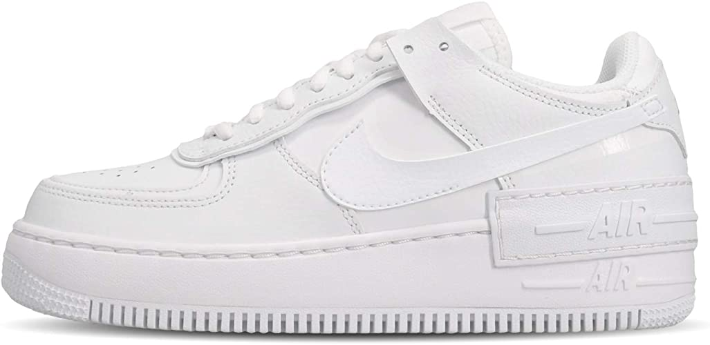 Nike W Af1 Shadow Women S Basketball Shoe White 3 5 Uk 36 5 Eu Amazon Co Uk Shoes Bags Nike dominates the sportswear industry with a fresh, stylish approach to casual apparel. amazon co uk