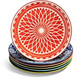Annovero Dinner Plates, Set of 6 Porcelain