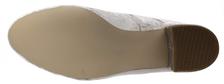 Fitters Footwear That Fits Dames Escarpins Sesy Velours Escarpins /à Talon Large EU,