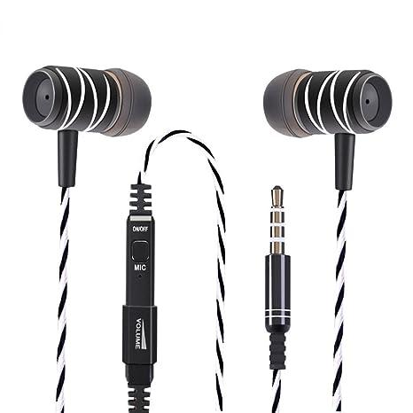 Auricolari Yosou Cuffie per Smartphone Auricolare In Ear con Microfono Per  Musica e Cellulare Prestazione Eccellente d06cdea16e20