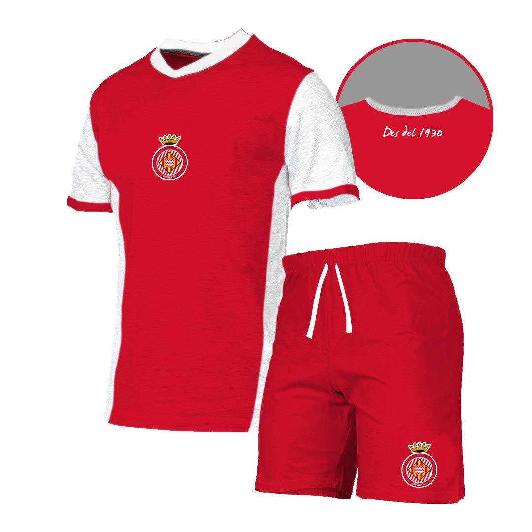 GIRONA FC Pijgir Pijama Corto, Unisex niños: Amazon.es: Ropa ...
