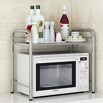 Pasamanos Muebles Cocina Estantería Horno de microondas Estante ...