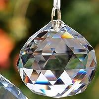 EasyBravo - Bola de Cristal Transparente con prismas