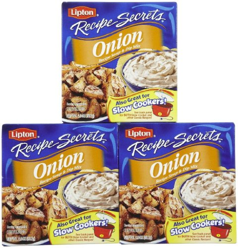 Lipton Recipe Secrets Onion Recipe Mix - 2 oz - 3 Pack - Lipton Soup Mix