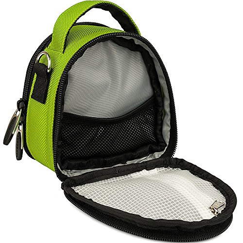 Accessories Camera Green Camera Handbag Waterproof EX5000 CrossBody Action X1HD12MP Case Top DBPower Handle zZTvFqTxw