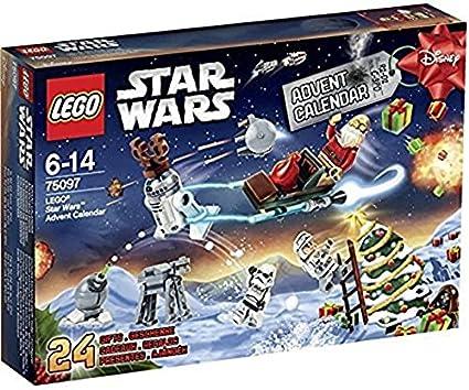 LEGO STAR WARS - Calendario de Adviento, 292 Piezas (75097)