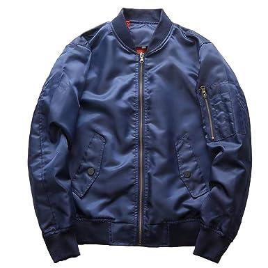 Chaqueta de Aviador Jacket para Hombre de Manga Larga Abrigo ...