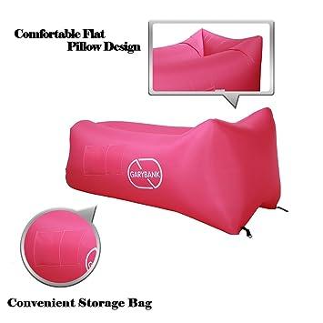 garybank inflable tumbona hinchable de sacos de dormir camas de ...