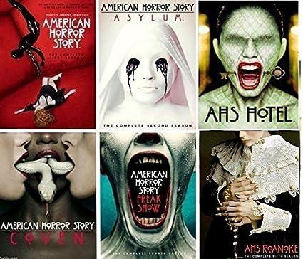 American Horror Story: The Complete Series Seasons 1-6 DVD: DVD & Blu-ray :  Amazon.fr