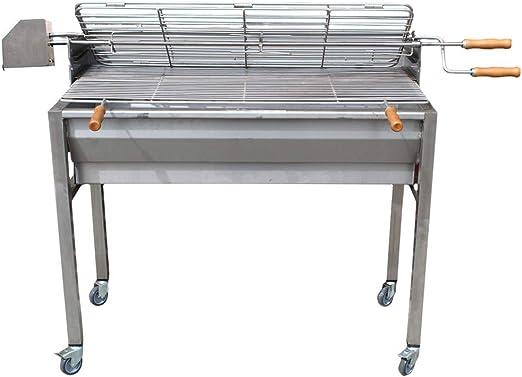 100% Inox Aisi 304 Parrilla de asador de carbón de Acero ...