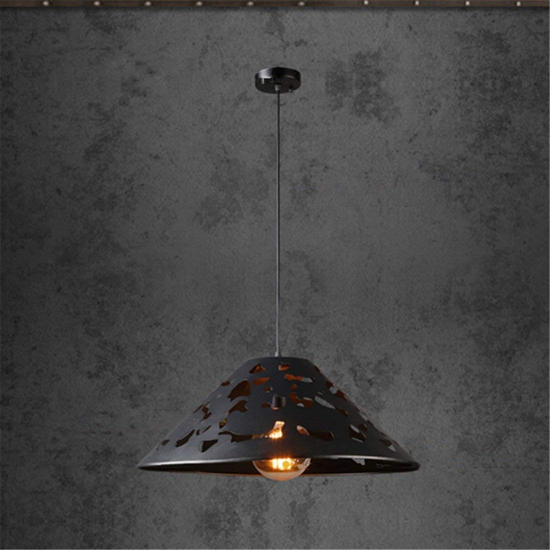 Industrielle Eisen Kreative Retro Nostalgie Φ 40  H 20, E27, Bar Restaurant Internet-Café Gang Bekleidungsgeschäft Kronleuchter Lampen
