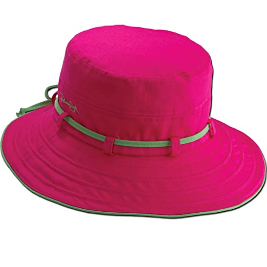 Amazon.com  Panama Jack Women s Contrast Cotton Bucket Sun Hat with ... b9e9158432b2