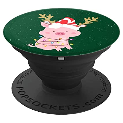 Funny Pig Christmas Lights New Year 2019 - PopSockets Grip and Stand for  Phones and Tablets - Amazon.com: Funny Pig Christmas Lights New Year 2019 - PopSockets