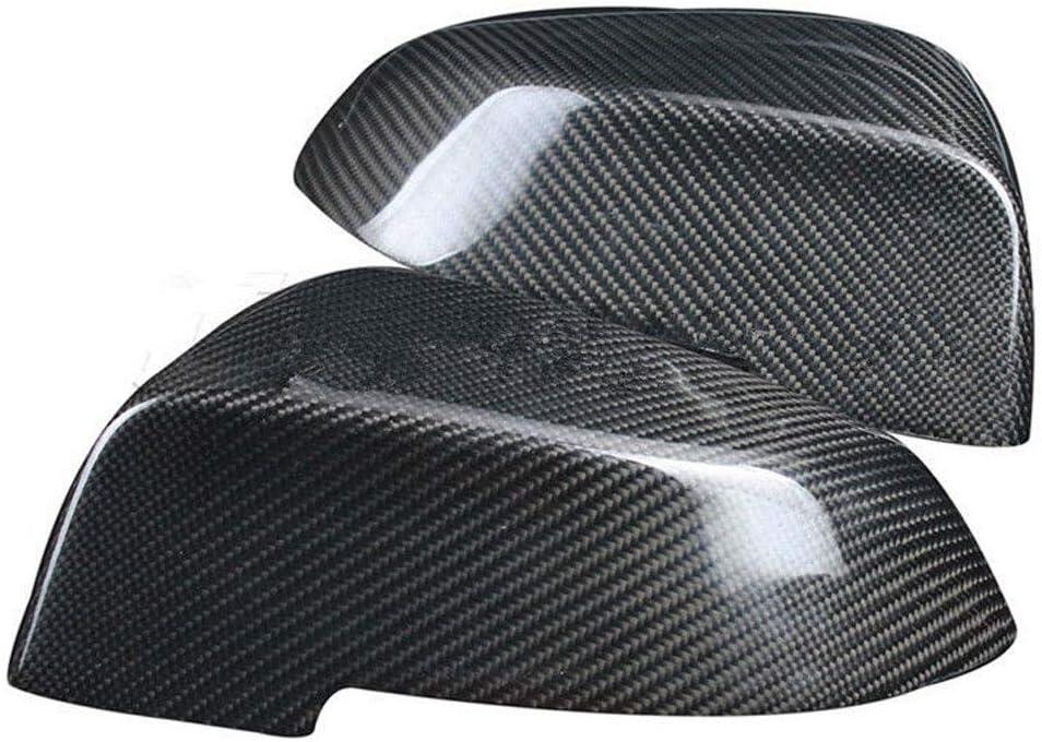 f/ür BMW 5er-Serie E60 F10 2014 1 Paar Karbonfaser 2017 f/ür Au/ßenspiegel YSHtanj Auto-Spiegelabdeckung