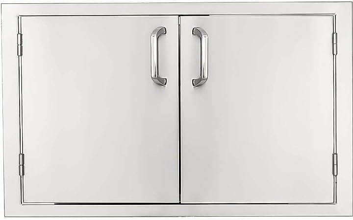 Amazon Com Bbqguys Signature Series 42 Inch Stainless Steel Double Access Door Outdoor Kitchen Access Doors Garden Outdoor
