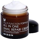 Snail Repair Cream 2.53 oz, Face Moisturizer with Snail Mucin Extract, All in One Snail Repair Cream, Recovery Cream…
