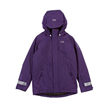 2bb47bd3 Helly Hansen Girl's K Rider Insulated Jacket, Imperial Purple, 104/4 ...