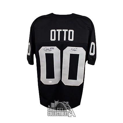 7fc4372294d Jim Otto Autographed Jersey - HOF Custom Black B) - JSA Certified -  Autographed NFL