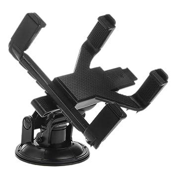 Soporte giratorio de coche para Samsung tablet GPS Portable succión alta calidad Stander Parabrisas: Amazon.es: Coche y moto