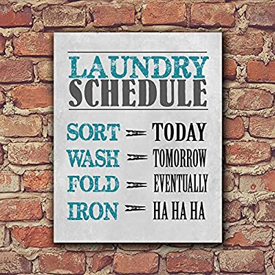 Laundry Signs for Home Decor