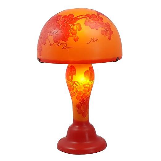 mervy - bilis lámpara de mesa 48 cm Estrellas Blancas 30 cm ...