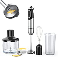 OXA Smart 900W Detachable Immersion Hand Blender Stick Blender with Slip-proof Ergonomic Grip | U Will Receive A Whisk Attachment If UR Lucky Enough