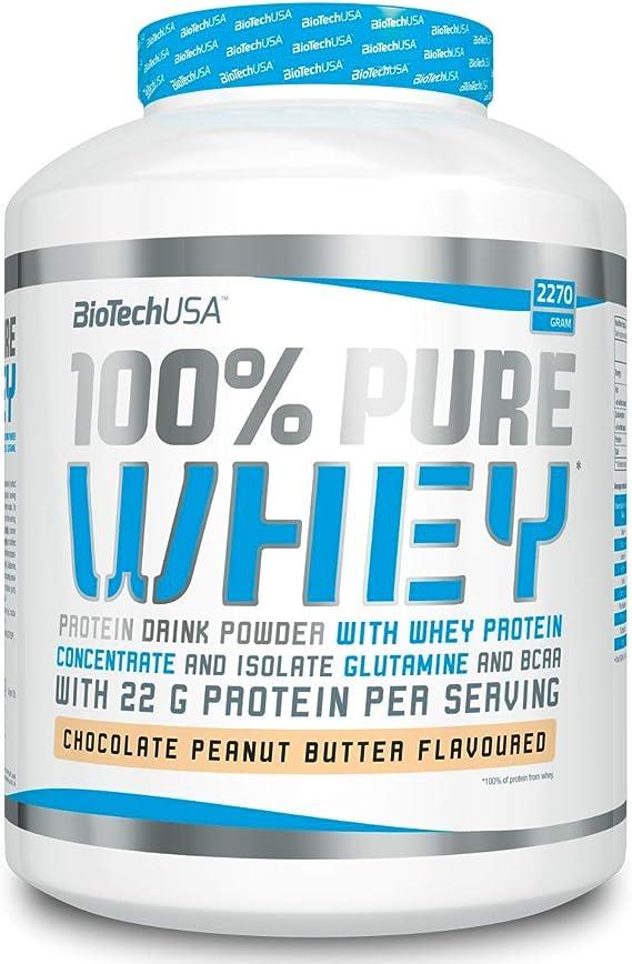 Biotech 100% Pure Whey Proteínas Banana - 2270 gr
