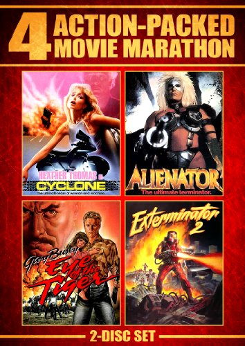 - Action Packed Movie Marathon (Cyclone, Alienator, Eye Of The Tiger & Exterminator 2)