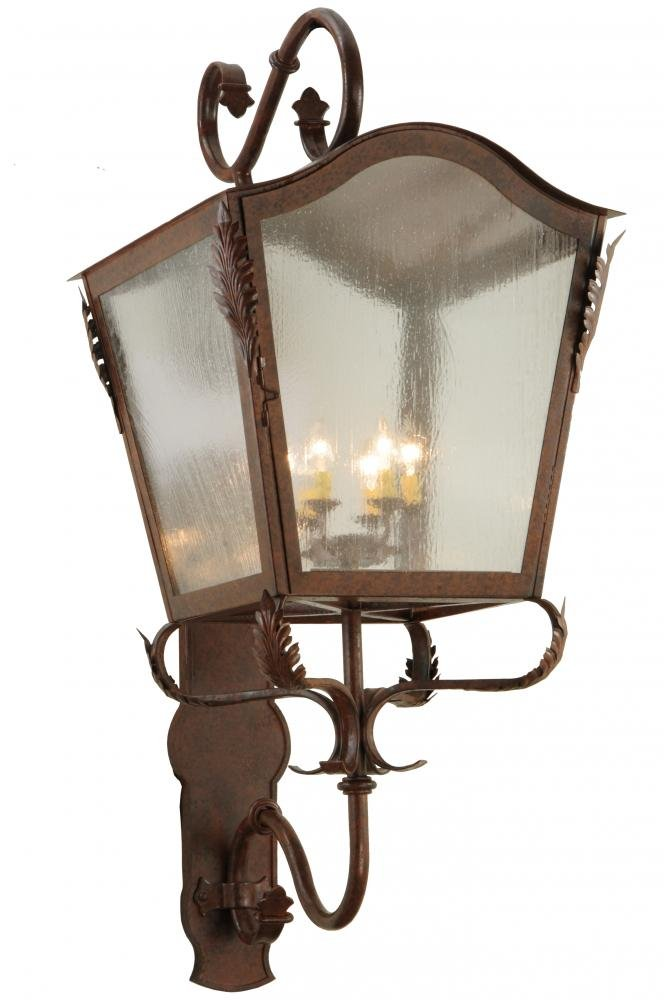 Meyda Tiffany 138237 Christian Lantern Wall Sconce, 23'' Width by Meyda Tiffany