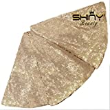 ShinyBeauty Christmas Tree Skirt-Champagne-48Inch,Rustic Glittery Sequin Tree Skirt for Your Party Better Decoration