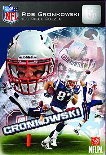 MasterPieces NFL New England Patriots Rob Gronkowski Jigsaw Puzzle, 100-Piece