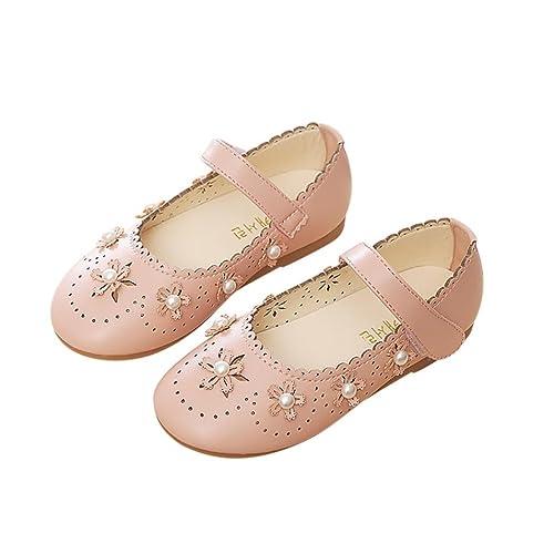 Hmeng Baby Shoes - Merceditas de Poliuretano para Niña 3df430ad088a2