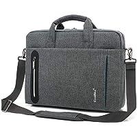 SHX dnb Bolsa Protectora de Funda para computadora portátil, maletín, Bandolera Compatible, Impermeable con Mango 15.6 17.3 Pulgadas
