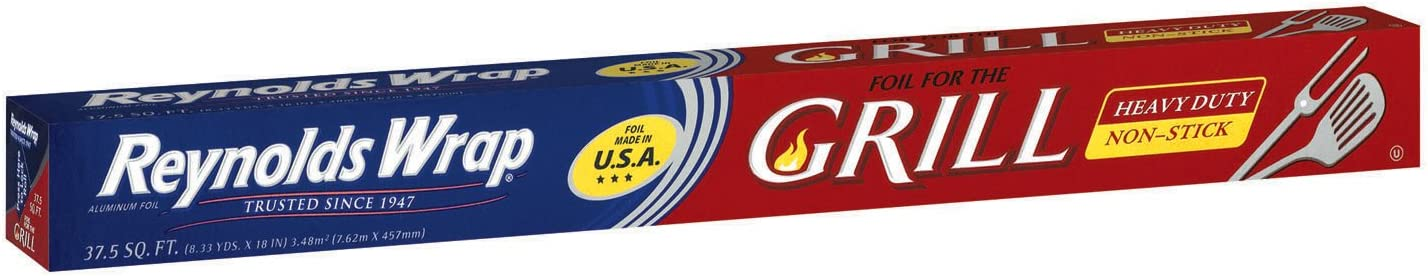 Reynolds 00136 Foil Wrap grill, 37.5 Sq. Ft