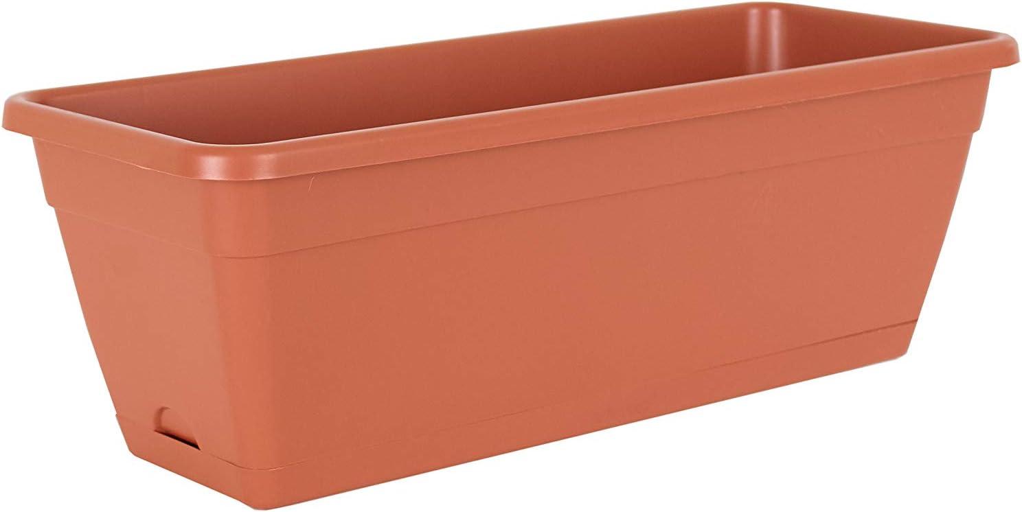 Artevasi Venezia Water Reserve Plant Box 50 cm Terracotta