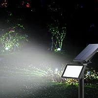 LED Solaire Projecteur,Extérieur Solaire de Jardin Spot Lampe Solaire 48 LED lumière de Nuit sans Fil pour Noël, Jardin, Escalier Exterieur, Cour, Clôture, Patio (1 PCS)