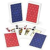 Copag Class Vanguard 100% Plastic Playing Cards, Bridge Size, Jumbo Index