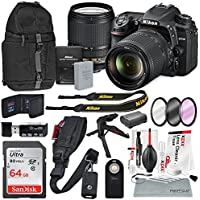 Nikon D7500 DSLR with AF-S DX NIKKOR 18-140mm f/3.5-5.6G ED VR Lens and Accessory Bundle + XPIX Cleaning Kit