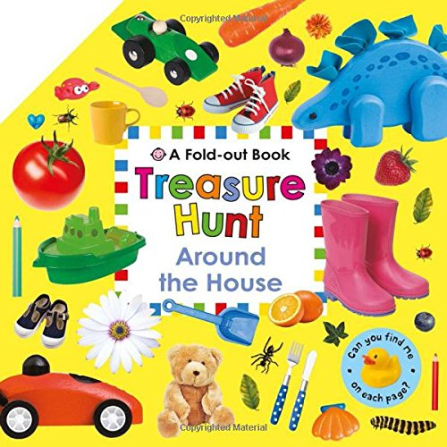 Treasure Hunt Around House Fold Out