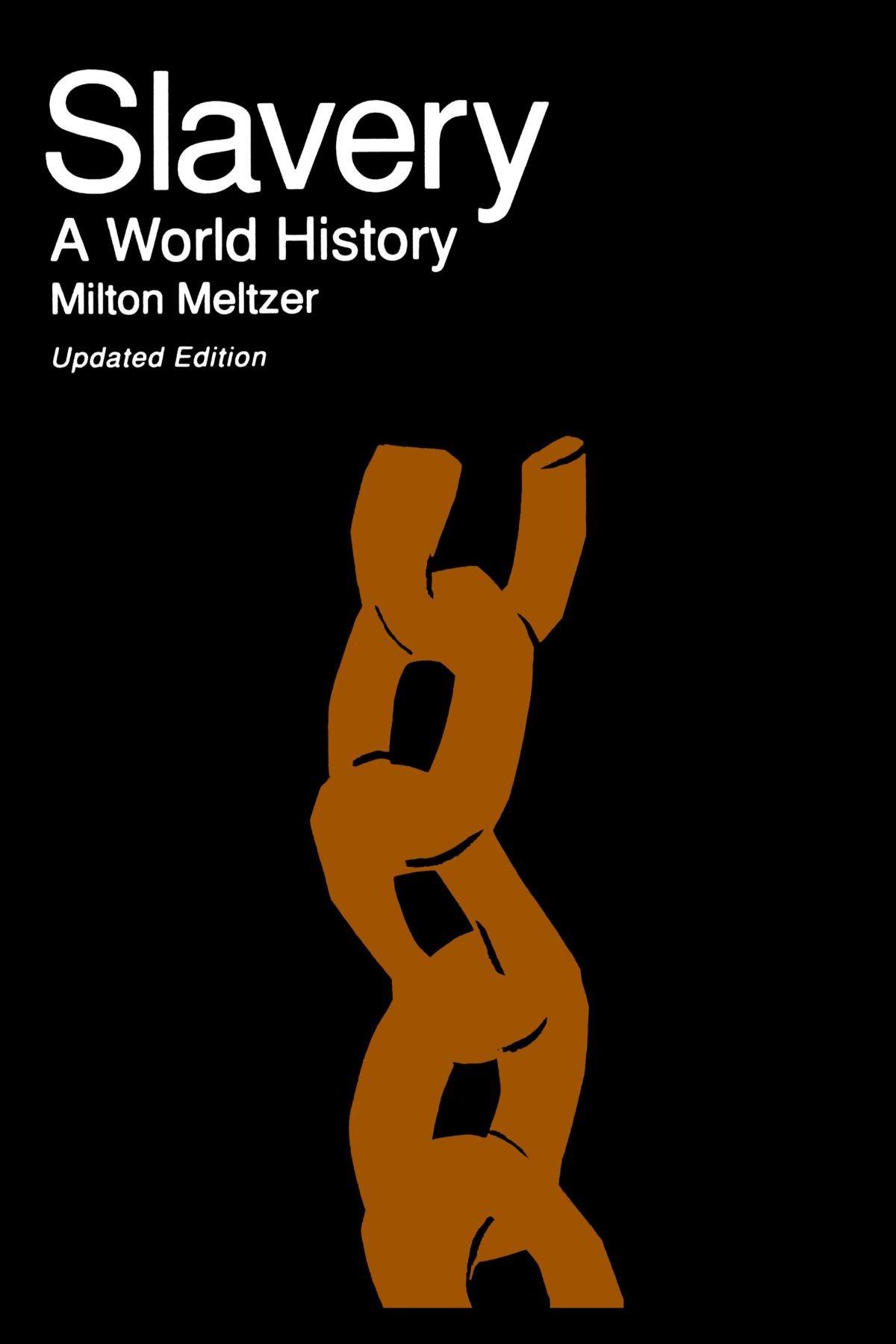 Slavery World History Milton Meltzer product image