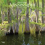 Mississippi Wild & Scenic 2020 12 x 12 Inch Monthly Square Wall Calendar, USA United States of America Southeast State Nature