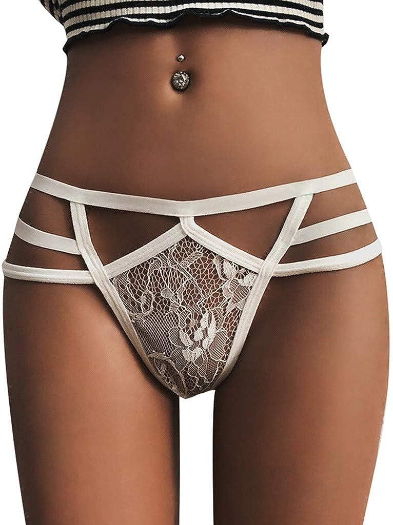 Women Lingerie G-string Mesh Briefs Underwear Panties T string Thongs Knick
