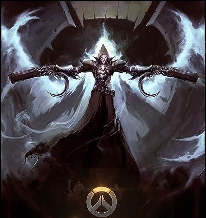 Amazoncom Overwatch Reaper Poster Characterassault Type